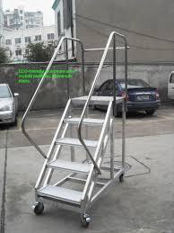 professional custom folding aluminum alloy ladders long aluminum