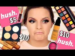 affordable makeup artist i tried affordable makeup from the hush app hits misses