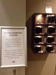 Charging Shelf Station by My Gym Got A Locking Phone Charging Station Mildlyinteresting