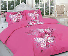 pink butterfly bedding ebay