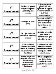 Bill Of Rights Worksheet Answers 179 Best Government Images On Teaching Social Studies