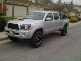 toyota tacoma silver post your lifted double cab long bed tacoma u0027s tacoma world