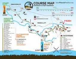 Montana Road Conditions Map Missoula Marathon Facts And Figures Kpax Com Continuous News