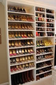 Shoe Closet With Doors Spectacular Shoe Storage Contemporary Closet Dc Metro By