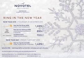 Hotel Special Offers Novotel Bangkok Ploenchit Sukhumvit Novotel For Noël And The New Year Too 9journeythailand