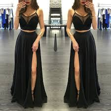 evening dresses for weddings black prom dress 2017 prom dresses wedding party gown formal wear
