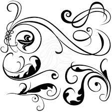 Decorative Line Clip Art Decorative Elements Clipart Clipart Collection Http Gallery