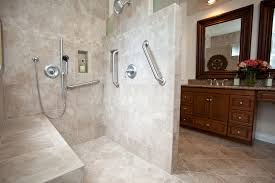 Small Bathroom Shower Ideas Bathroom Enchanting Handicap Bathroom Design For Your Home Ideas