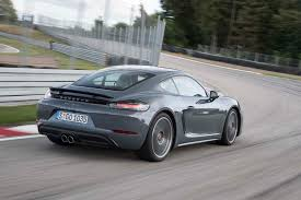 silver porsche boxster 2017 2017 porsche 718 cayman first drive review performance trumps