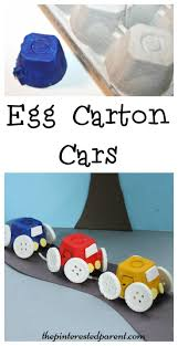 simple egg carton car craft for kids easy arts u0026 crafts with