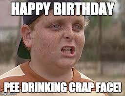 Happy Birthday Meme Creator - sandlot imgflip