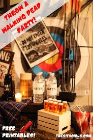 walking dead party supplies fear the walking dead party party and