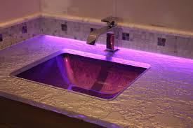 bathroom led lighting ideas pink and purple bathroom backroom accent led lighting of glass