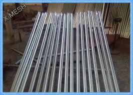 ornamental decorative wire mesh fence panels w profile 2400hx2300l
