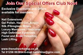 the nail workshop beautiful nails lashes and brows in dorset