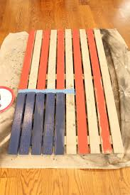 Pallet American Flag The Picket Fence Projects Oh Say Can You See Diy American Flag Art