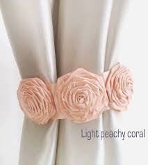 Shabby Chic Curtain Holdbacks by 76 Best Curtain Tie Backs Images On Pinterest Curtain Tie Backs