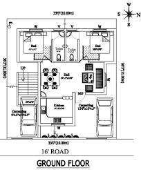 2 bhk independent house plan house and home design