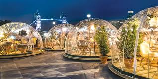 garden igloo pop up igloos invite londoners the inside track connecting the