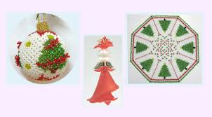 Christmas Decorations Shop Penrith by Beaded Christmas Kits At Polly U0027s Beads Penrith