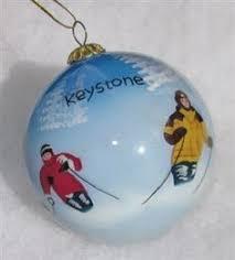 ski utah porcelain ornament ski theme
