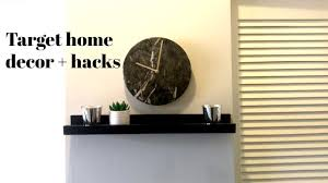 target how to floating shelf home décor hacks youtube