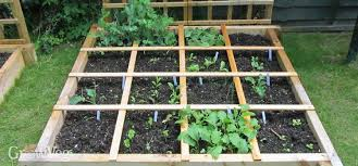 Metre To Square Feet Planning A Square Foot Vegetable Garden