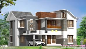 2200 sq feet beautiful modern villa kerala house design idea