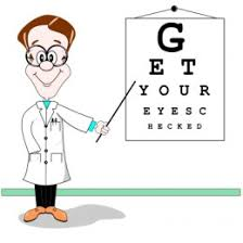 Image result for student vision screening cartoons