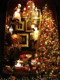 Old Fashioned Christmas Window Decorations old fashioned christmas tree vintage old fashioned christmas