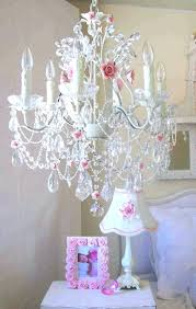 Nursery Chandelier Kathy Ireland Chandelier Charlotte Three Arm Chandelier With Pink