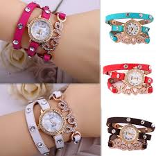 bracelet design watches images Buy pack of 2 love leather bracelet watches online in pakistan on jpg