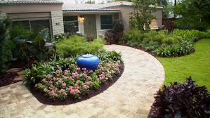 Ideas For Front Gardens Simple Front Yard Garden Ideas Home Design And Decorating