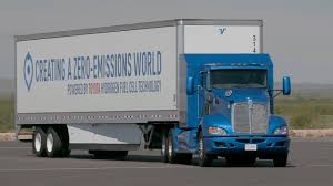 truck toyota toyota project portal hydrogen fuel cell truck youtube