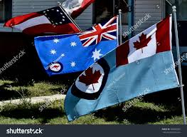 Battle Flag My Combined Anniversary World War Two Stock Photo 786666025