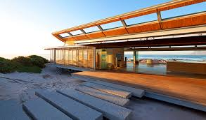 beach house ls shades rooiels beach house in cape town controls natural light with