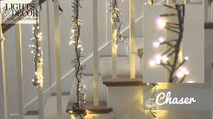 commercial led cluster garland lights