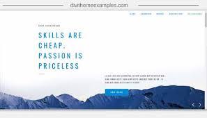 divi theme examples showcase