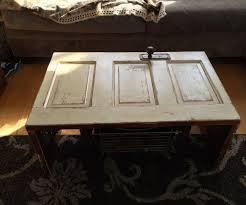 Old Coffee Table by Old Door Coffee Table 5 Steps With Pictures