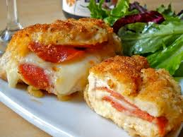 pepperoni stuffed chicken budget bytes