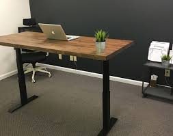Sit Stand Office Desk by Iron Age Office Iao Sit Stand Desk