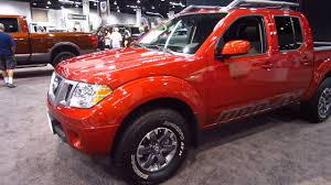 2017 Oc Auto Show New 2017 Nissan Frontier Pro 4x Crew Cab 4wd