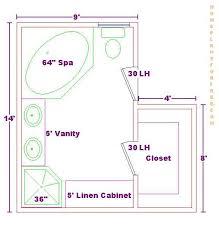 Small Bathroom Floor Plans 5 X 8 Bath Ideas 10x11 Floor Plan Bath And Kitchen Pinterest