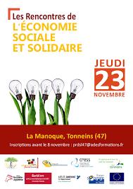 chambre de l 馗onomie sociale et solidaire loisirs les rencontres de l économie sociale et solidaire à