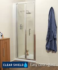 Shower Door 720mm K2 700 Bifold Shower Enclosure