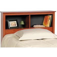 Bed Bookcase Headboard Buy Twin Platform Bed With 2 Drawers And Bookcase Headboard Finish