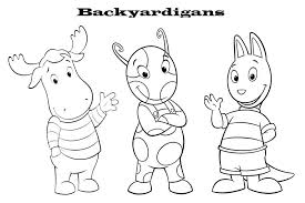 backyardigans coloring pages ngbasic