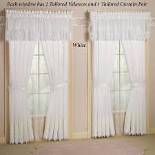 Sheer Embroidered Curtains Photos Imported Embroidered Lace Sheer Curtains Concealed Tab