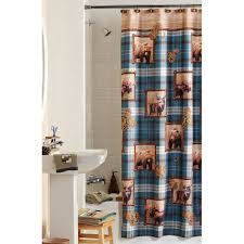 mainstays plaid lodge shower curtain walmart com