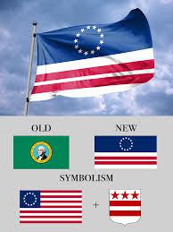 Christopher Columbus Flag Washington State Flag Redesign Vexillology